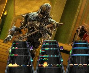 Cena de 'Guitar hero: warriors of rock'. (Foto: Divulgação)
