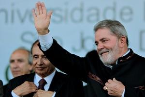 Presidente Lula durante cerimônia em Minas Gerais