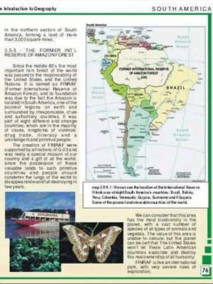 O falso mapa de livro didático que circula desde o ano 2000 com boato sobre internacionalização da Amazônia