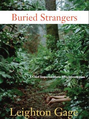 A capa de 'Buried Strangers', um dos livros de ficção policial de Gage que têm ação no Brasil