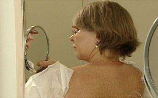Veja como se prevenir do câncer de pele (Foto: Bom dia Brasil)