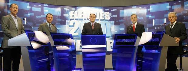 Candidatos ao governo do Rio de Janeiro debateram propostas