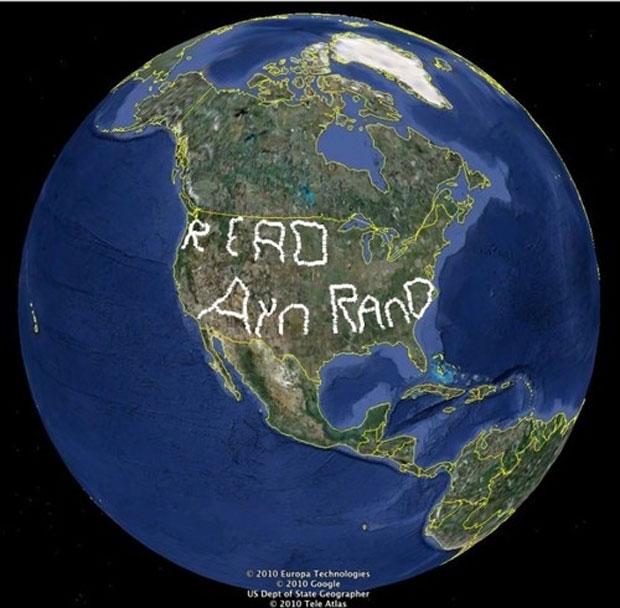 Foram percorridos 22 mil quilômetros para escrever mensagem com GPS.