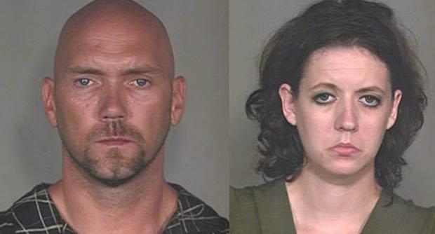 Jason McManigal e Rita Moore foram flagrados fazendo sexo.
