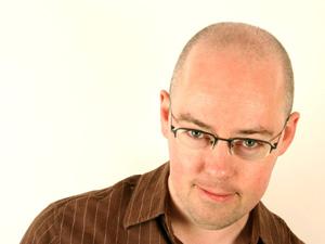 O escritor irlandês John Boyne, autor de 'O menino do pijama listrado'.