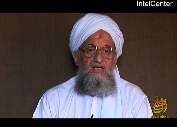 'Número dois' da rede terrorista Al-Qaeda, Ayman al-Zawahiri. (Foto: AP)