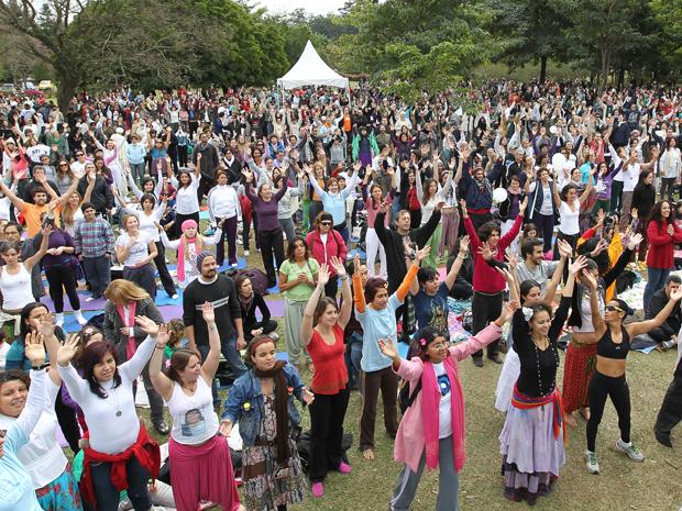 yoga pela paz