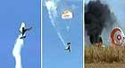Piloto sobrevive a queda de avião na Argentina (Reprodução / TV Globo)