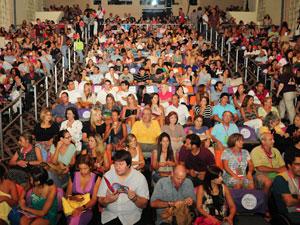 Público do Brazilian Film Festival no Colony Theater, em Miami.