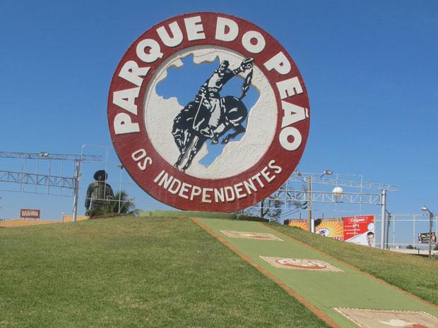 Parque do Peão, onde acontece a festa