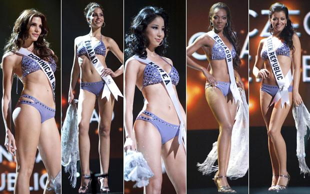 Una joven paraguaya esta participando en el concurso Miss
