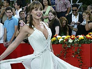 Gabriela Spanic já foi protagonista de novelas transmitidas para o Brasil