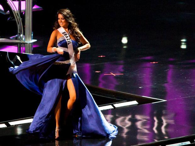 Débora Lyra, Miss Brasil 2010, disputou Miss Universo em Las Vegas