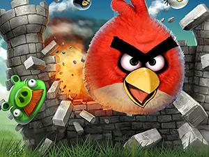 Imagem do game 'Angry birds' (Foto: Divulgação)