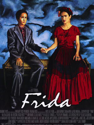 Cartaz do filme 'Frida Kahlo': pivô de polêmica
