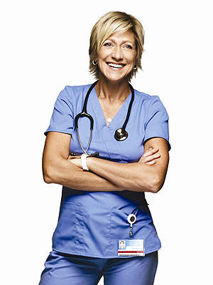 Edie Falco, como a enfermeira Jackie
