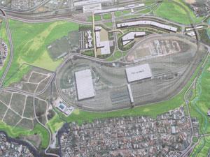 mapa área estádio