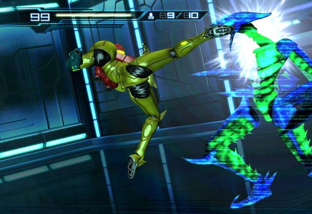 O jogador terá muitos combates contra monstros em 'Other m'.