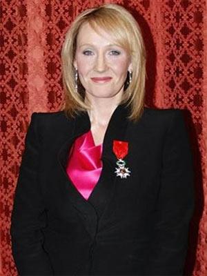 A escritora britânica J.K. Rowling fez doação para pesquisa