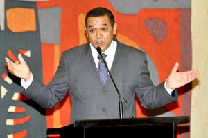 Ministro Eloi Araujo, na sanção da Estatuto da Igualdade Racial