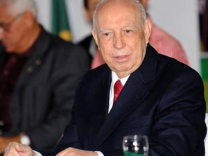 José Alencar em Convenção Nacional do PRB, na cidade de Brasília, em junho de 2010