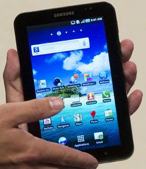 Galaxy Tab (Foto: Gero Breloer/AP)