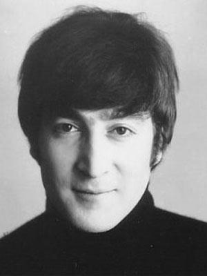 O músico John Lennon