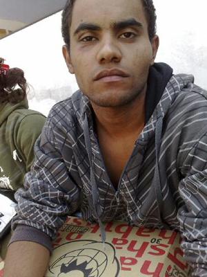 O office boy Edson Miguel Sobrinho diz ter sido agredido pelo PM e seus dois amigos