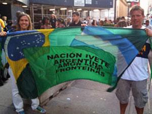 Fãs argentinos saíram de Buenos Aires para ver o show da baiana.