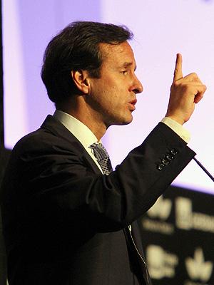 Jorge Quiroga, ex-presidente da Bolivia (2001-2002).