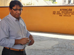 Gilberto Amarante, analista da Receita, durante entrevista em Formiga (MG)