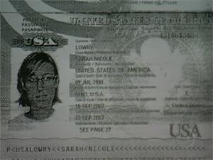 A americana Sarah recebeu alta após ficar internada por mais de dois meses