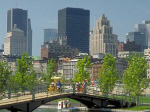 Montreal, maior cidade da província de Québec