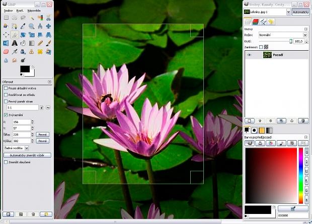 Gimp, editor gratuito de imagens bitmap.