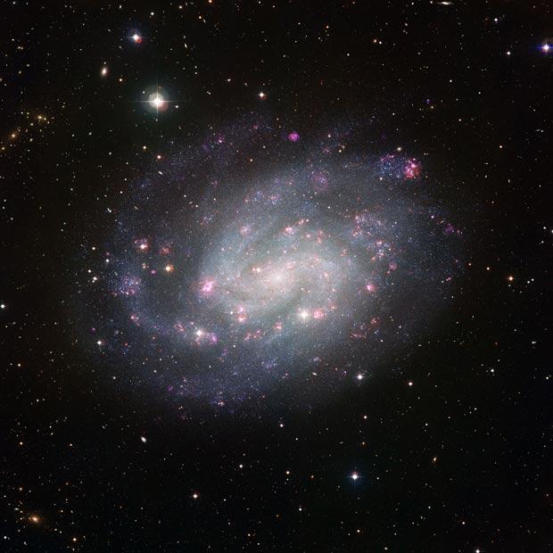 Escultor galáxia