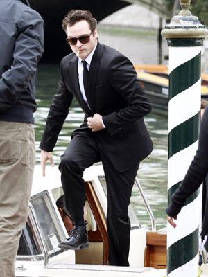 O ator Joaquin Phoenix chega ao Festival de Veneza nesta quarta-feira (6).