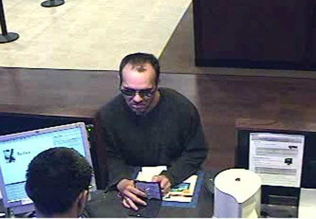 Ladrão de banco ganhou alcunha de 'Bandido Calvo'.