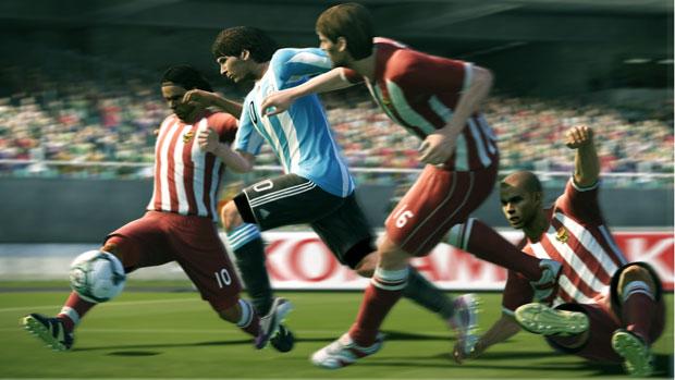 'Pro evolution soccer 2011' traz um sistema renovado de jogo.