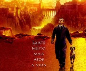 'Amor além da vida', imagem da capa do DVD