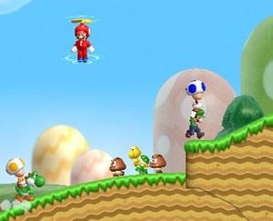 'New super Mario bros. Wii' tentou levar a série de volta ao passado com um toque moderno.