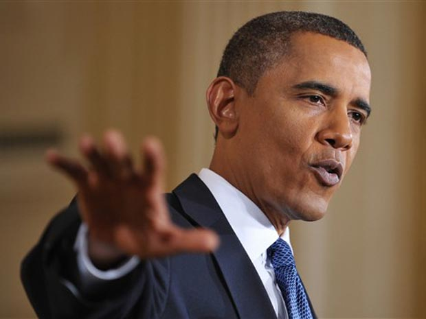 O presidente dos EUA, Barack Obama, dá entrevista nesta sexta-feira (10) na Casa Branca.