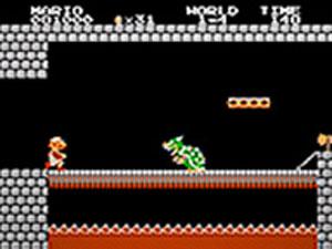 Mario tinha que enfrentar o vilão Bowser em 'Super Mario bros.'.