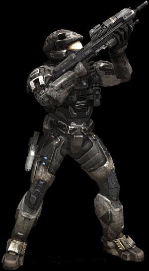 A armadura do jogador pode ser personalizada.