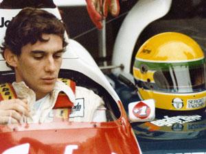 Imagne do documentário 'Senna', sobre a vida do piloto de Fórmula 1 brasileiro.