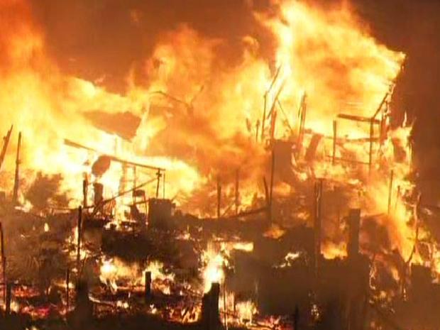 Incêndios em São Luís