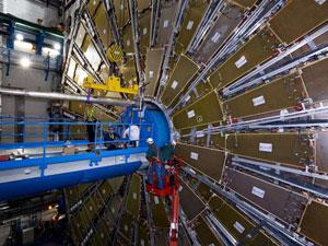Um dos detectores do LHC