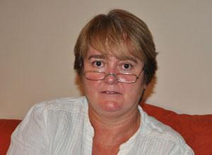 A ativista Anne Lawrence em sua casa nesta quarta-feira (15).
