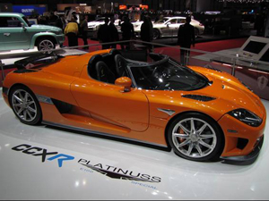 Koenigsegg CCXR E100