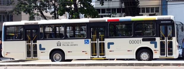 Modelo de Ônibus novo no Rio