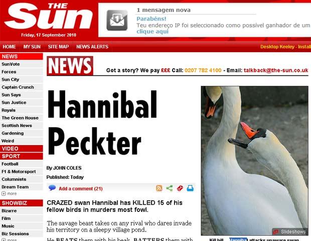 'Hannibal' ataca cisne rival.